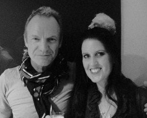 Sting with Karen Anstee